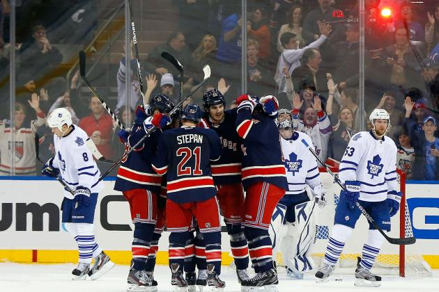 Are the NY Rangers the NHL's Best Team on Paper?