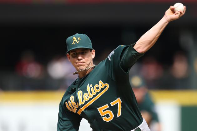 Oakland A's: Projecting 2013 Stats for Each of the Rotation Members