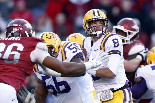 LSU Football: 5 Things Zach Mettenberger Must Do to Improve in 2013