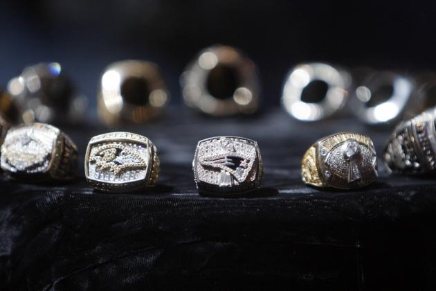 Super Bowl Rings: Breaking Down Championship Rings over 20 Years