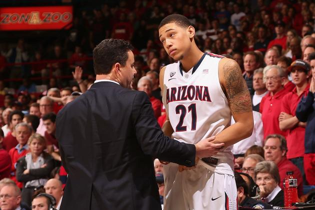 Arizona Basketball: Midseason Report Cards for the Wildcats' Freshmen