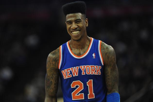Imagining What Every Knick Would Look Like with Iman Shumpert's Hi-Top Fade