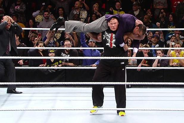 WWE Raw Results and Report Card 1/28/13: Grading Brock Lesnar and The Rock