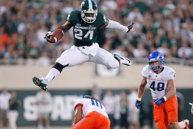 Michigan State's Le'Veon Bell:  A Star NFL Running Back?
