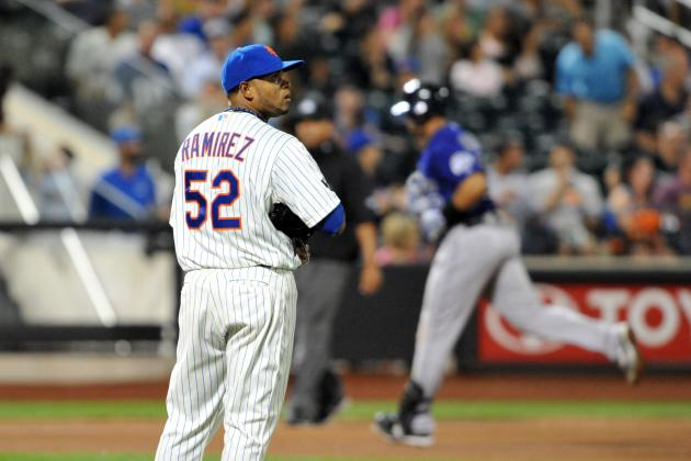 10 Biggest Disappointments in the 2012 Mets Season