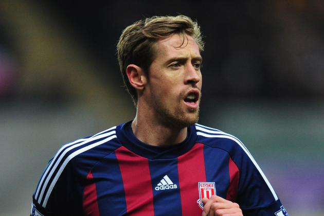 Peter Crouch: His 2012-13 Season for Stoke City in Statistics