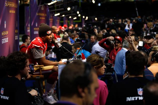 Biggest Takeaways from Super Bowl XLVII Media Day