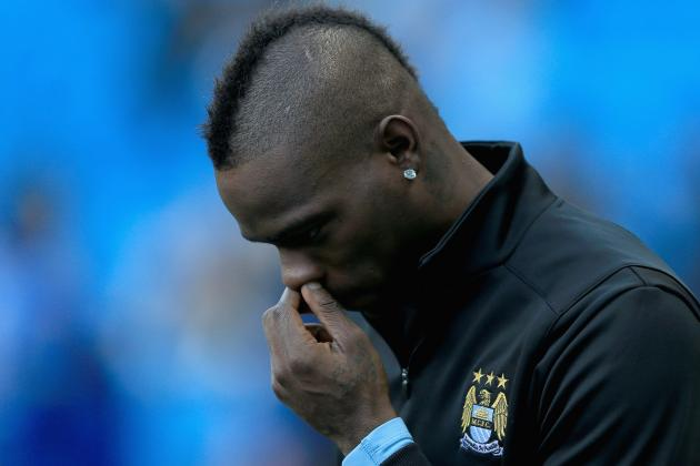 Mario Balotelli's 5 Most Ridiculous Antics at Manchester City