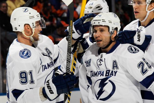 5 Most Pressing Concerns for the Tampa Bay Lightning in the Early 2013 Season