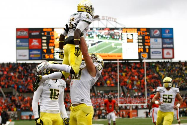 Power Ranking the Pac-12's Best Backfields for the 2013 Season