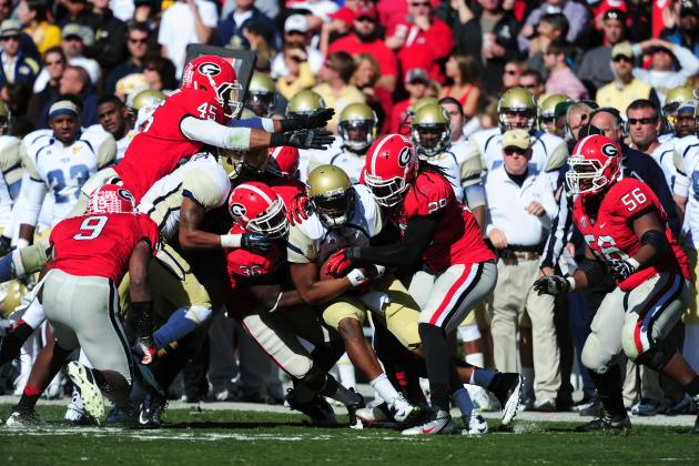Georgia Football: Top 10 Defensive Plays for Dawgs in 2012