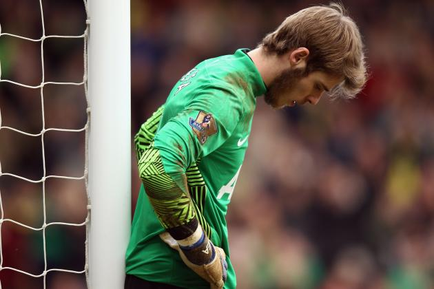 Manchester United Power Rankings: Top 5 Goalkeeping Blunders