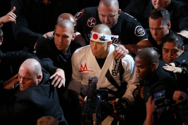 Georges St-Pierre and 5 of the Most Focused Fighters in MMA