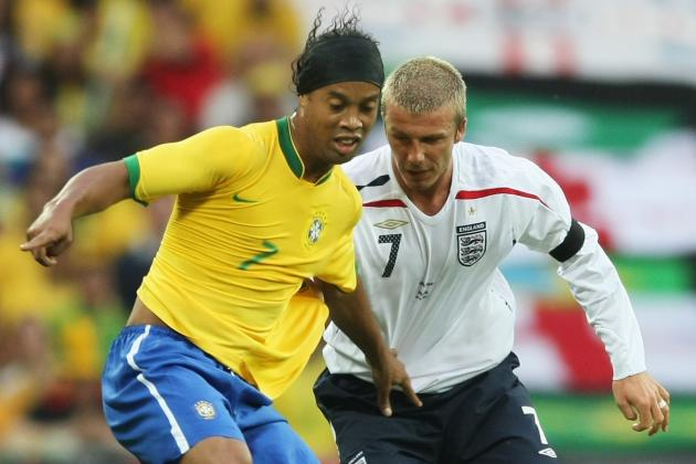 Most Memorable Matches Between England and Brazil