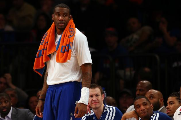 Pros and Cons of NY Knicks Trading Amar'e Stoudemire
