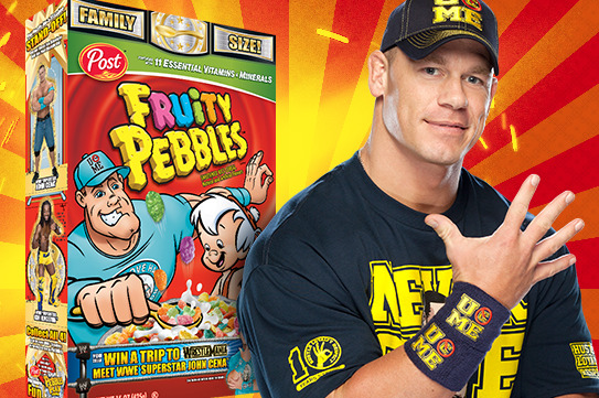 John Cena's Fruity Pebbles, Cookie Puss and Other Unflattering WWE Nicknames