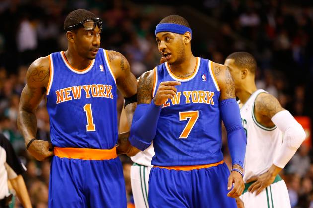 Updated Grades for Carmelo Anthony-Amar'e Stoudemire Pairing