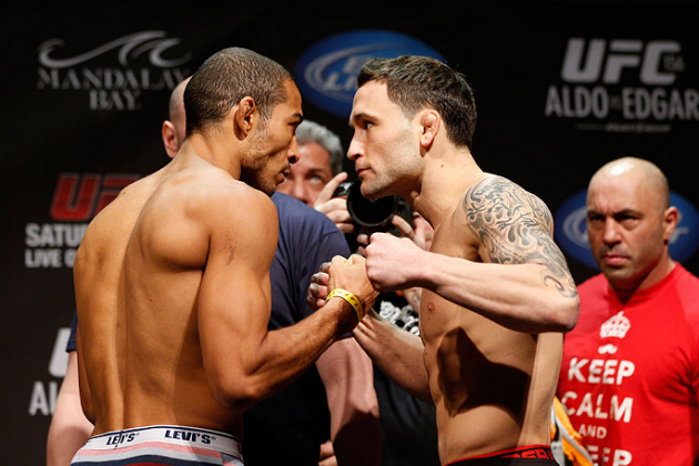 UFC 156: Jose Aldo vs. Frankie Edgar by the Numbers
