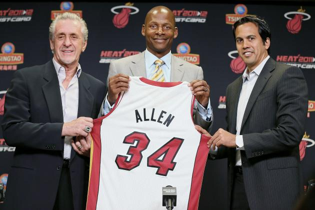 How Ray Allen Helps and Hurts the Miami Heat