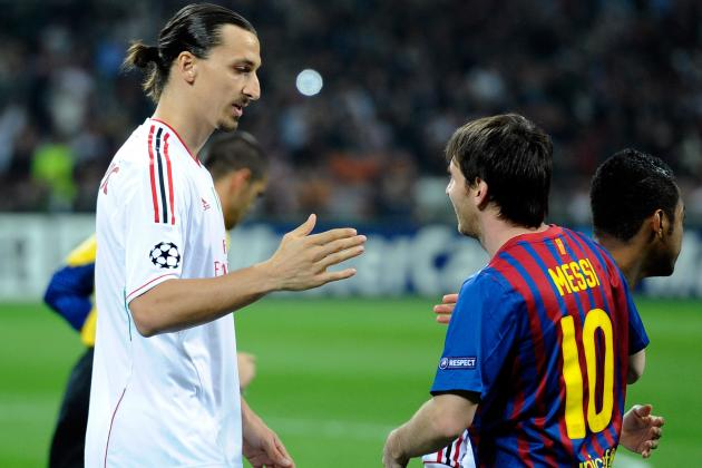 Lionel Messi vs. Zlatan Ibrahimovic: Comparing Their 2012-13 Stats