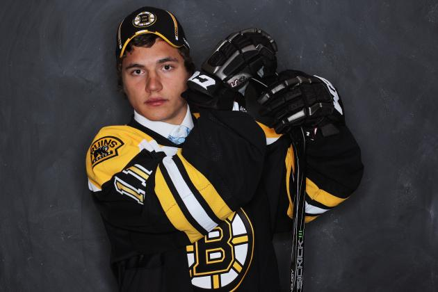 Ranking the Boston Bruins' Top 15 Prospects