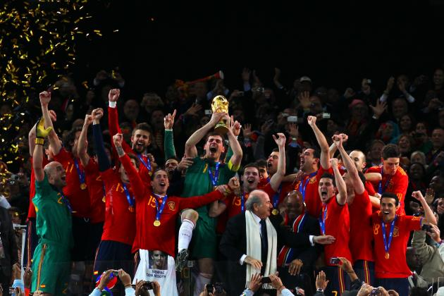 Ranking the Top 10 Contenders for World Cup Glory in 2014