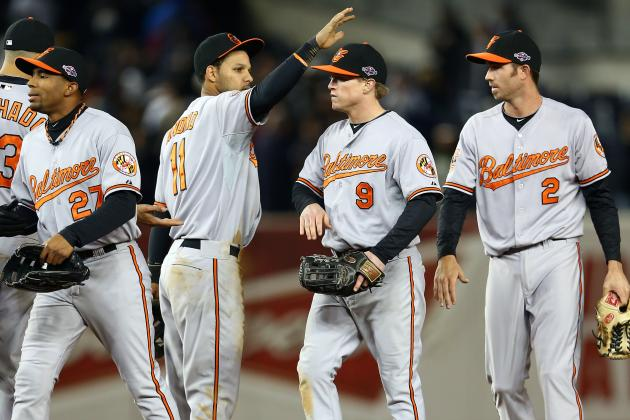 Baltimore Orioles: 4 Players Who Won't Be Back on Team in 2014