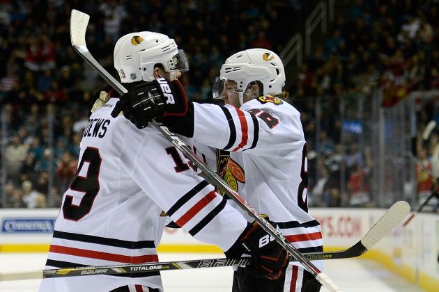 Predicting Stats for the Chicago Blackhawks' Top 10 Players in 2013 Season