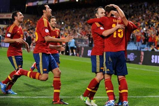 Spain's Winners and Losers Against Uruguay