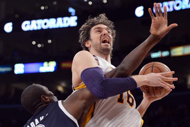 5 LA Lakers Who Must Step Up After Pau Gasol's Injury