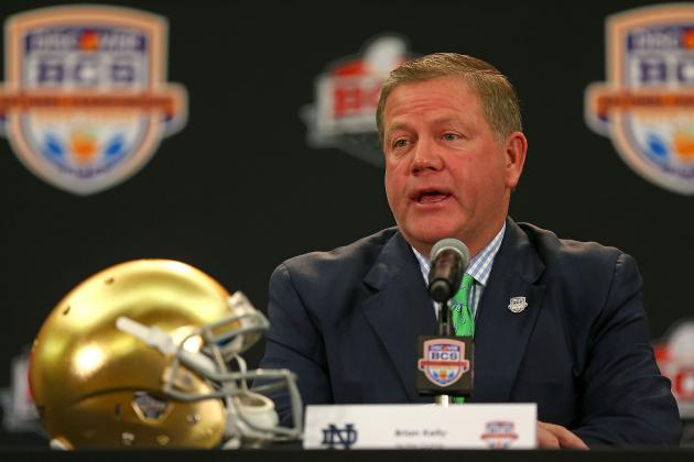 How Notre Dame's 2013 Recruiting Class Compares to Alabama