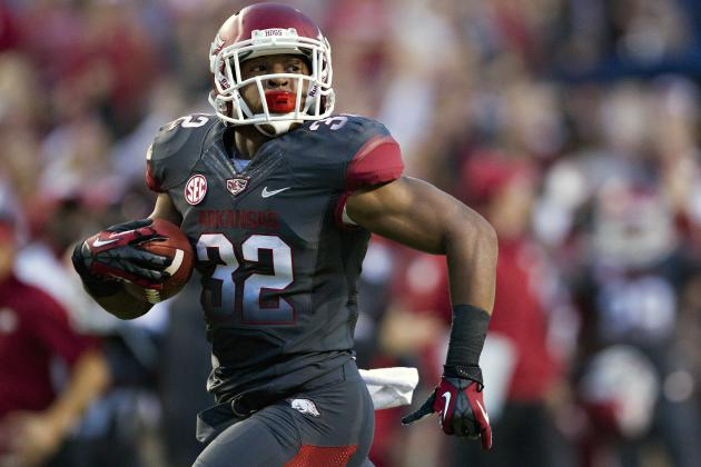 Arkansas Football: 6 Reasons Hogs' Running Game Will Explode in 2013