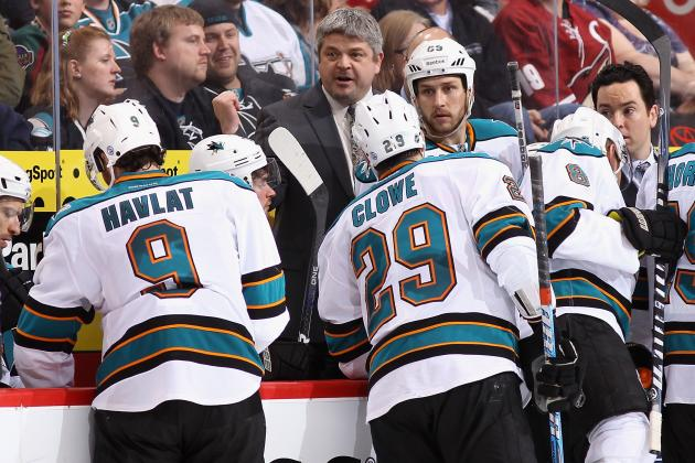 San Jose Sharks Award Candidates for 2013 NHL Season