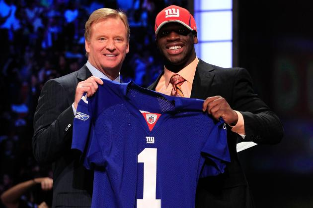 New York Giants' Top 5 First-Round Draft Picks Ever