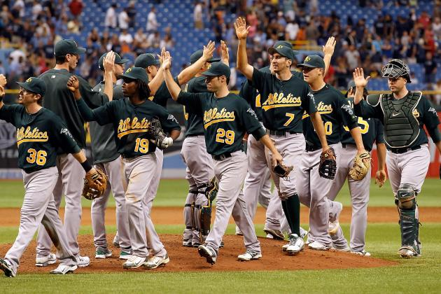 Oakland Athletics Starting Infield Predictions for 2013