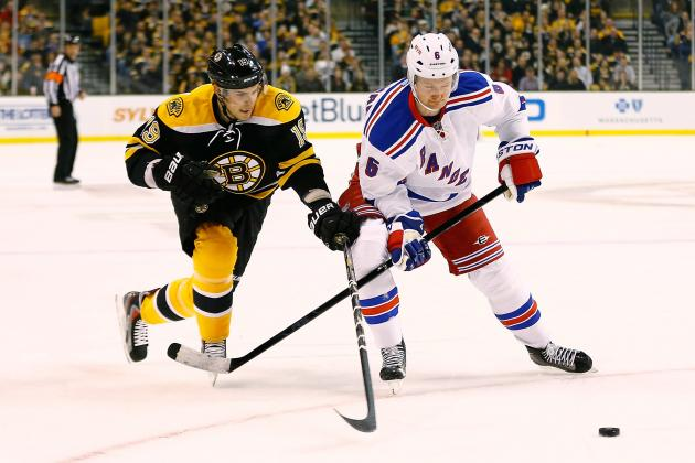 Boston Bruins vs. New York Rangers: 4 Memorable Moments from the Rivalry