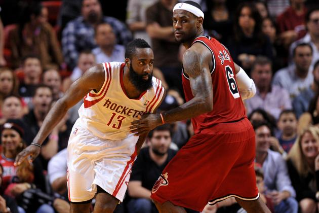 James Harden and the 4 NBA Players with LeBron James' Skill Set