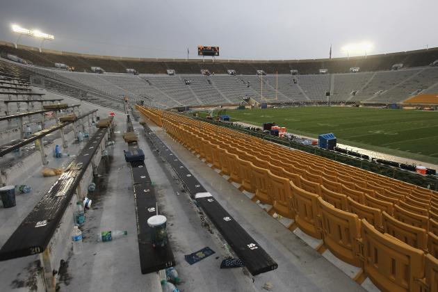 15 College Football Stadiums in Need of Some Major Spring Cleaning