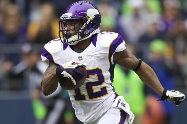 Percy Harvin on Trade Block: 5 Teams That Could Use Minnesota Viking's Services