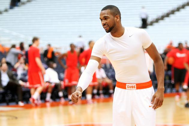 Return of James Southerland a Huge Plus for Syracuse