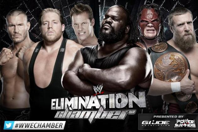WWE Elimination Chamber 2013: Handicapping No. 1 Contender Chamber Match Field