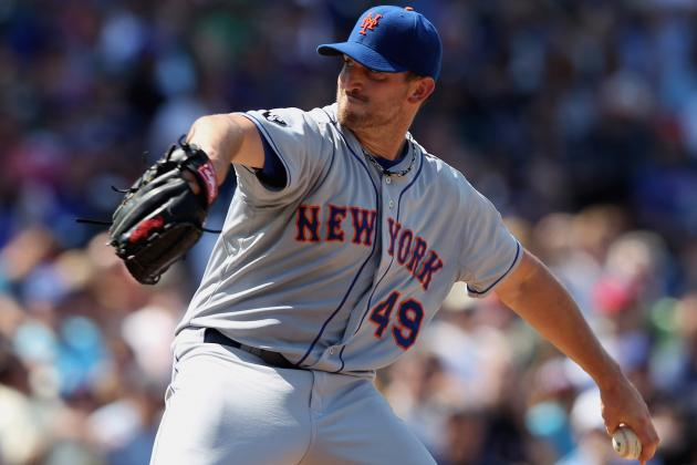Top 10 Most Effective Starting Pitchers in the Mets Organization in 2012