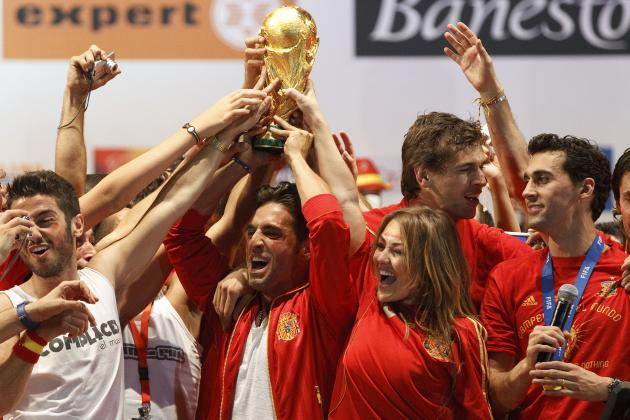 Spain Tops the Unofficial B/R Rankings, but USA Misses the Cut