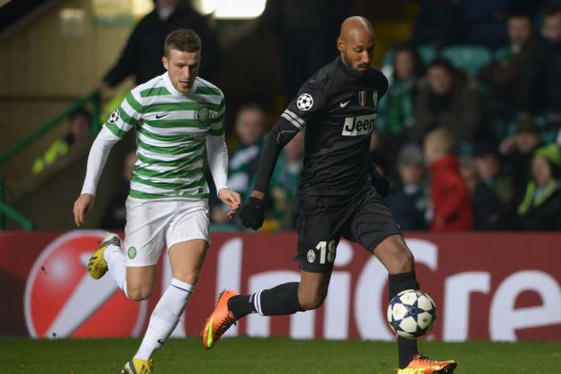 Celtic vs. Juventus: 6 Key Stats That Tell the Story of the Game
