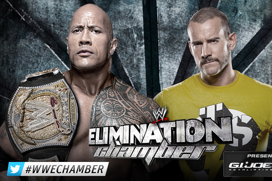 WWE Elimination Chamber 2013: 5 Twists & Turns the Rock-CM Punk Match Could Take