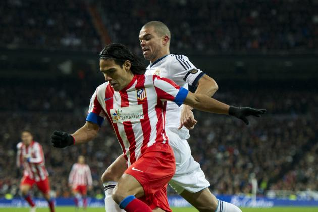 Radamel Falcao vs. Edinson Cavani: Which Striker Wins the Stats Battle?