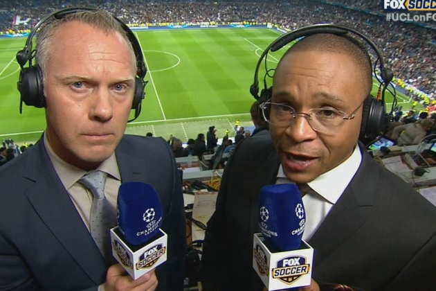 Grading Gus Johnson's Call of the Real Madrid-Manchester United UCL Match