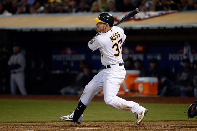 Oakland A's: 3 Reasons Brandon Moss Won't Have a Better 2013