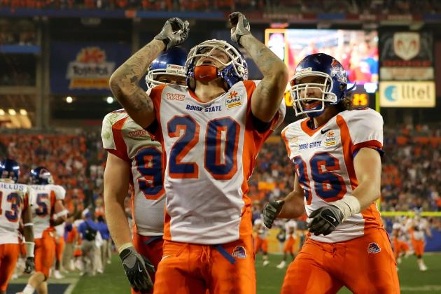 Boise State Football: 8 Games Between the Broncos and a BCS Berth
