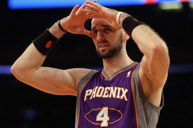 5 Best NBA Trade Destinations for Phoenix Suns' Marcin Gortat